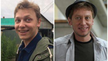 Михаил Трухин и его сын Егор