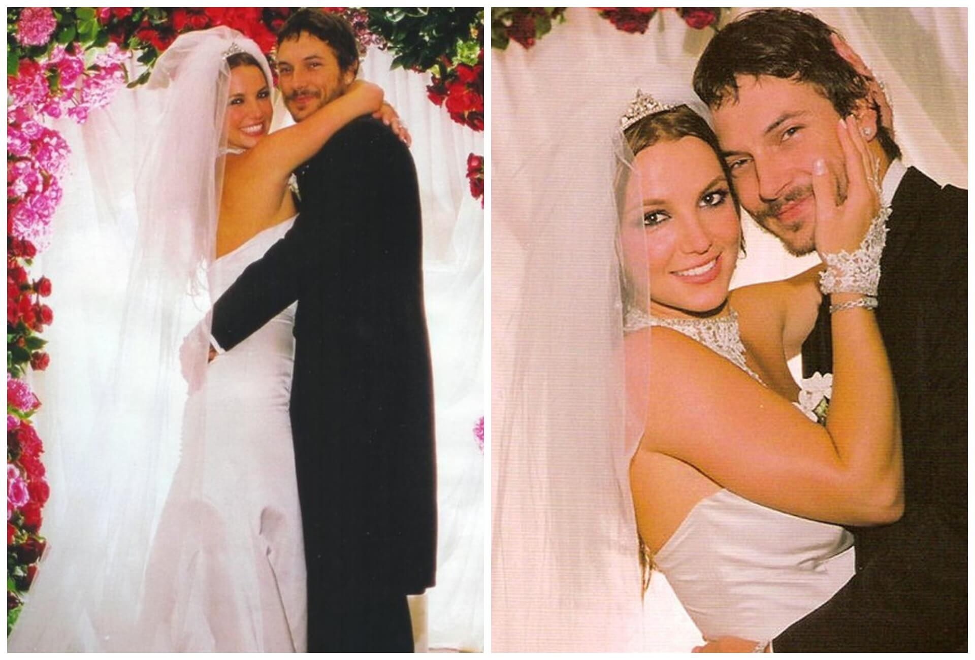 Бритни Спирс и Кевин Федерлайн свадьба