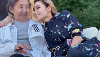 ляйсан утяшева фото с бабушкой