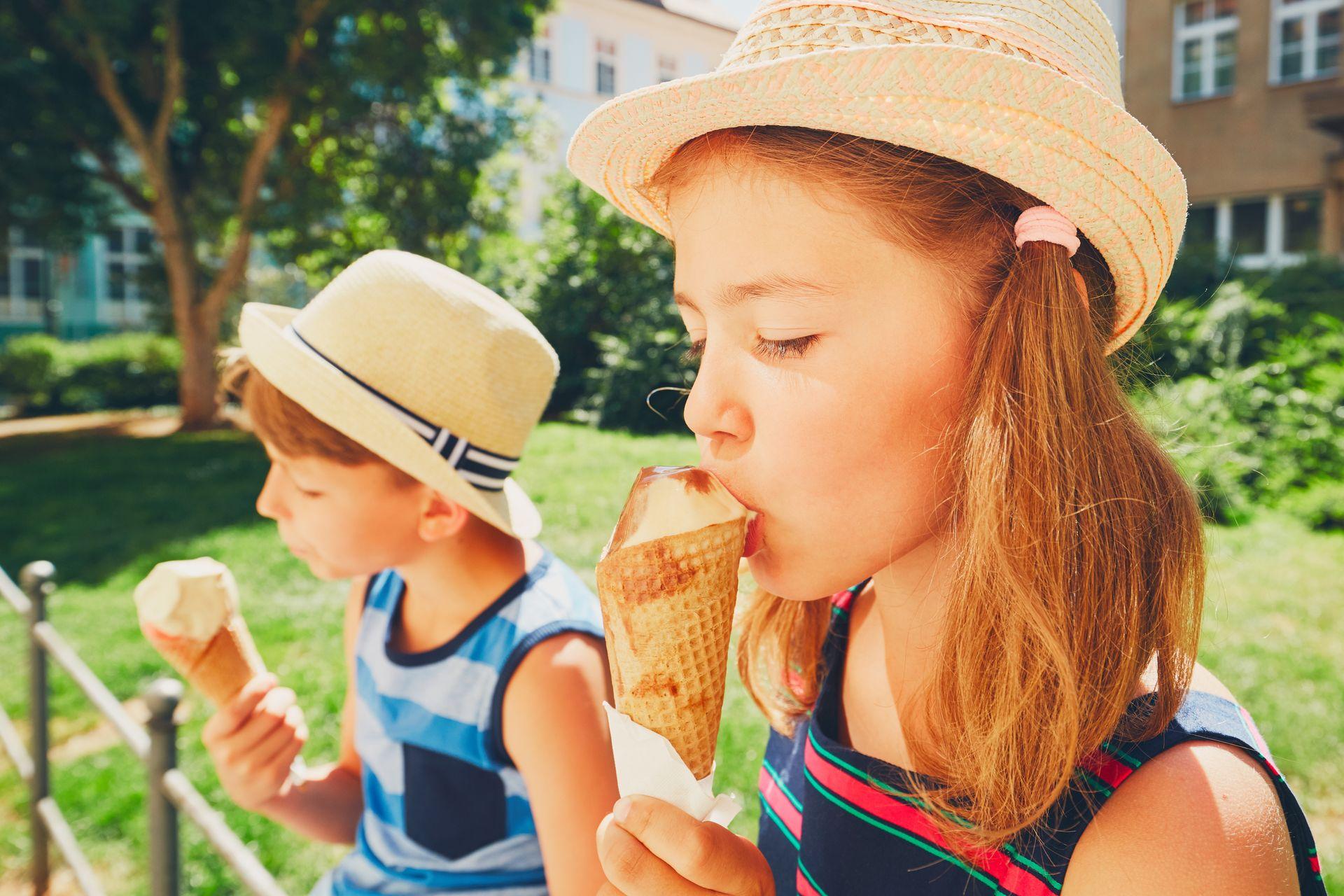 как давать мороженое детям
