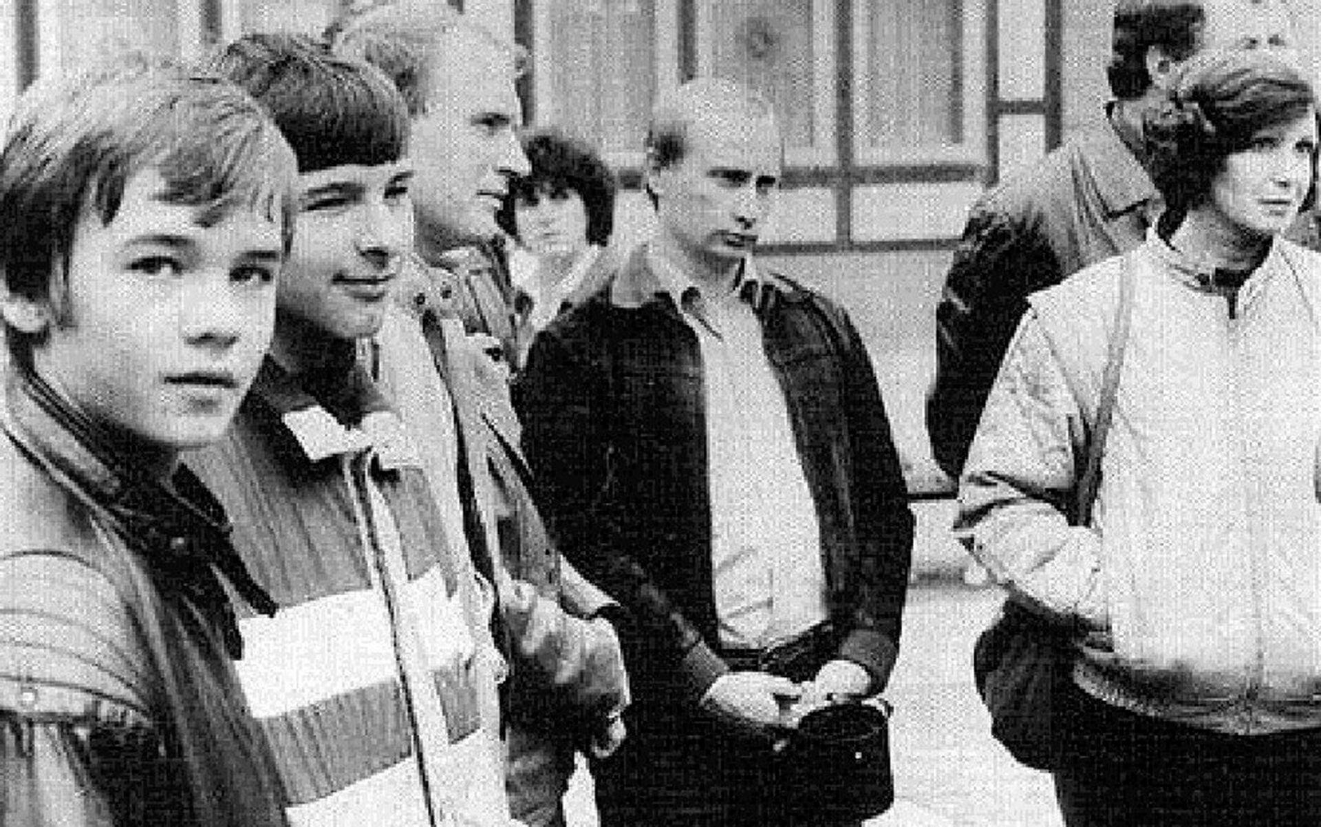 Путин в юные годы