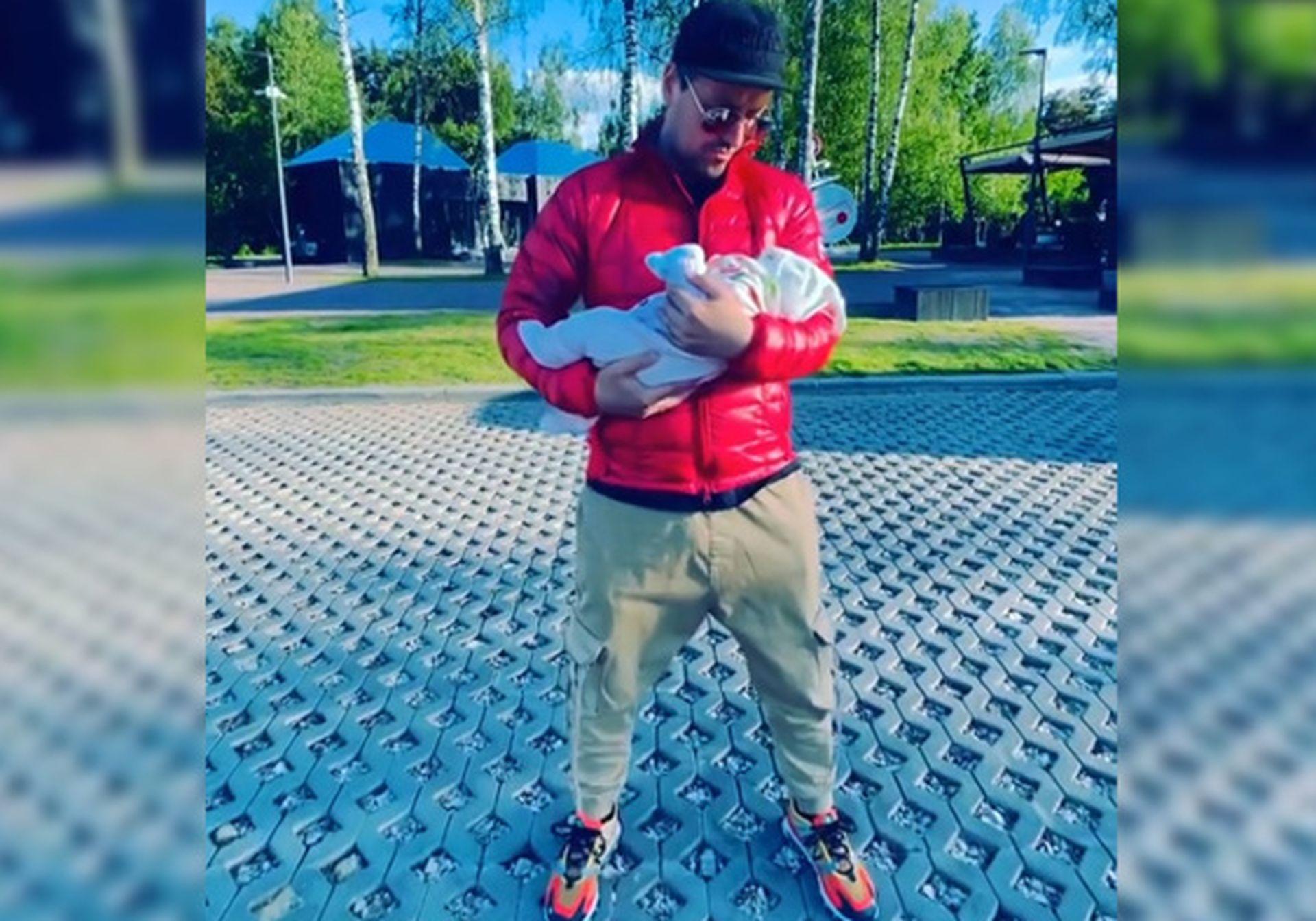 витас стал отцом в третий раз