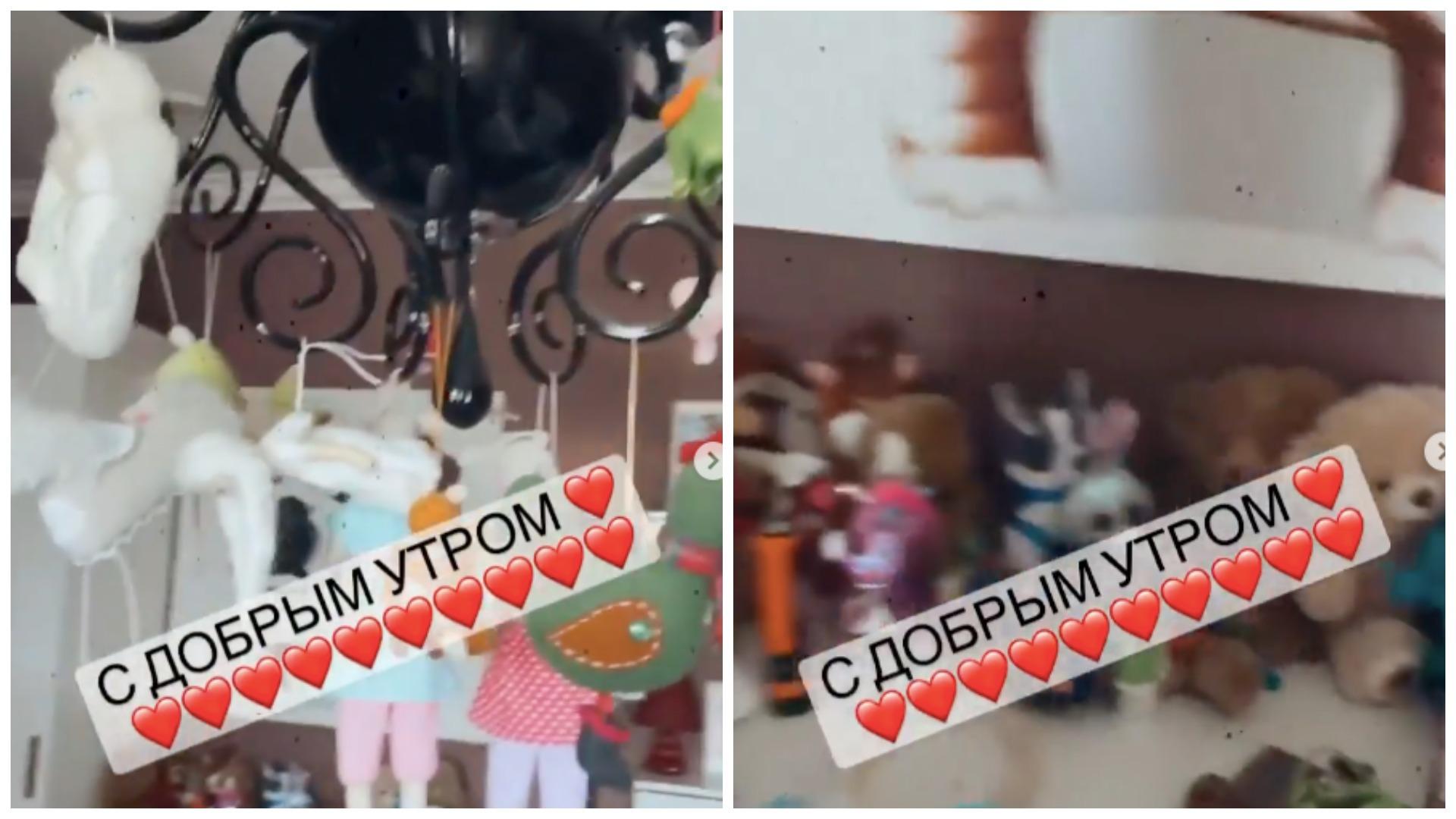 Слава показала детскую комнату младшей дочери